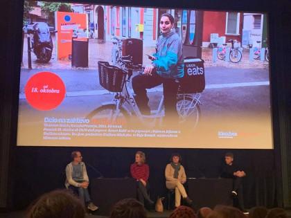Pogovor po premieri dokumentarca Delo na zahtevo