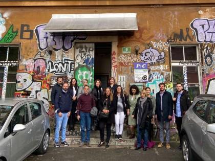 Obisk urednic in urednikov iz Severne Makedonije